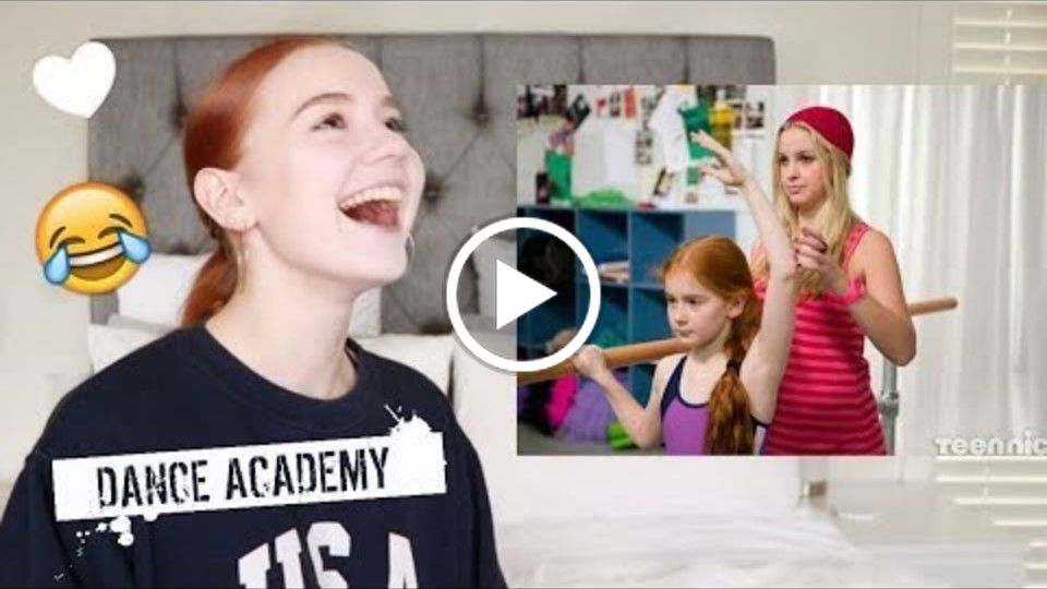 Reacting to myself on Dance Academy!? Scout/Ashleigh Ross ♡