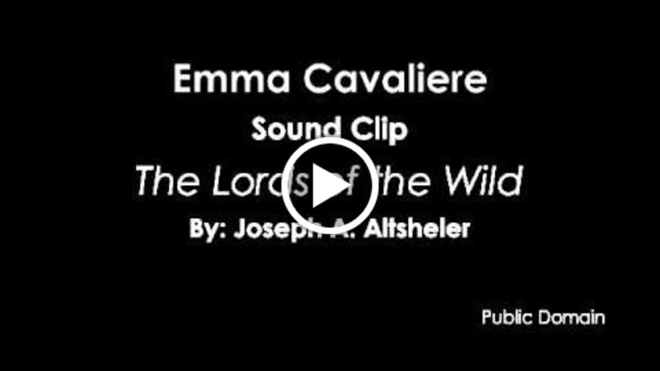 Emma Cavaliere ~ Narration sound clip