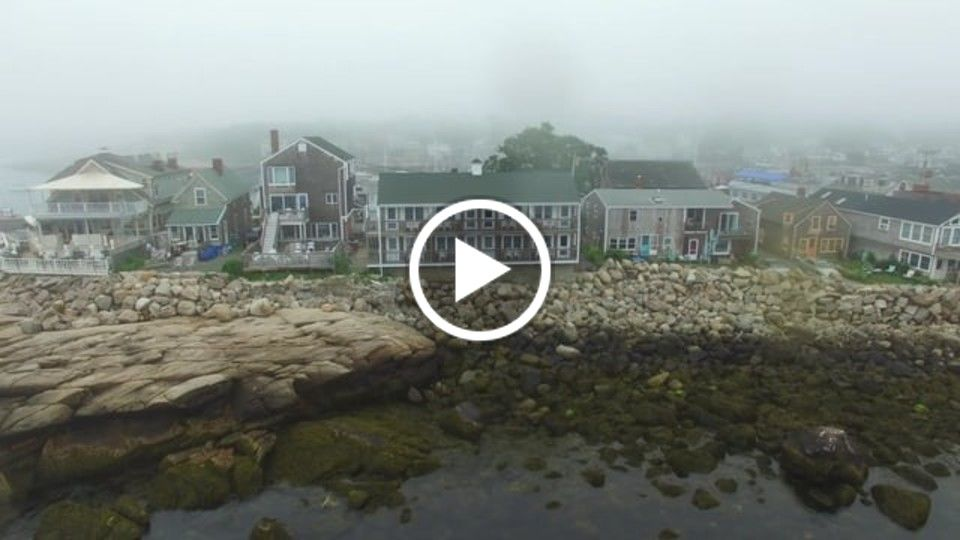 Rockport Harbor and Bear Skin Neck Peninsula