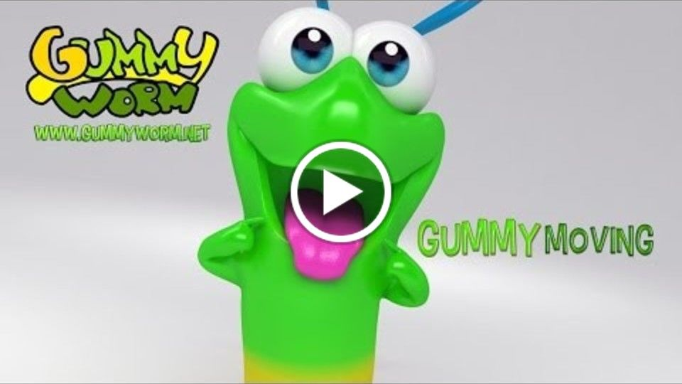 Gummy Moving - Gummy Worm Song - English version (Official video)