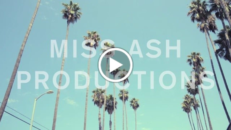 Miss Ash Productions Fall 2017 Sizzle Reel