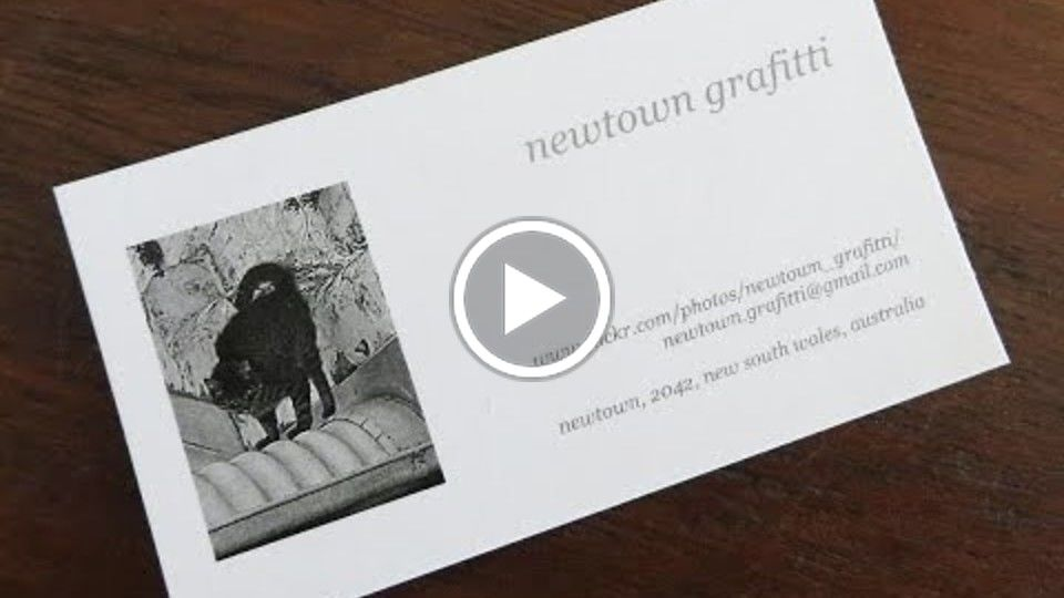 Newtown Grafitti a documentary about street photographer Mike Martin
