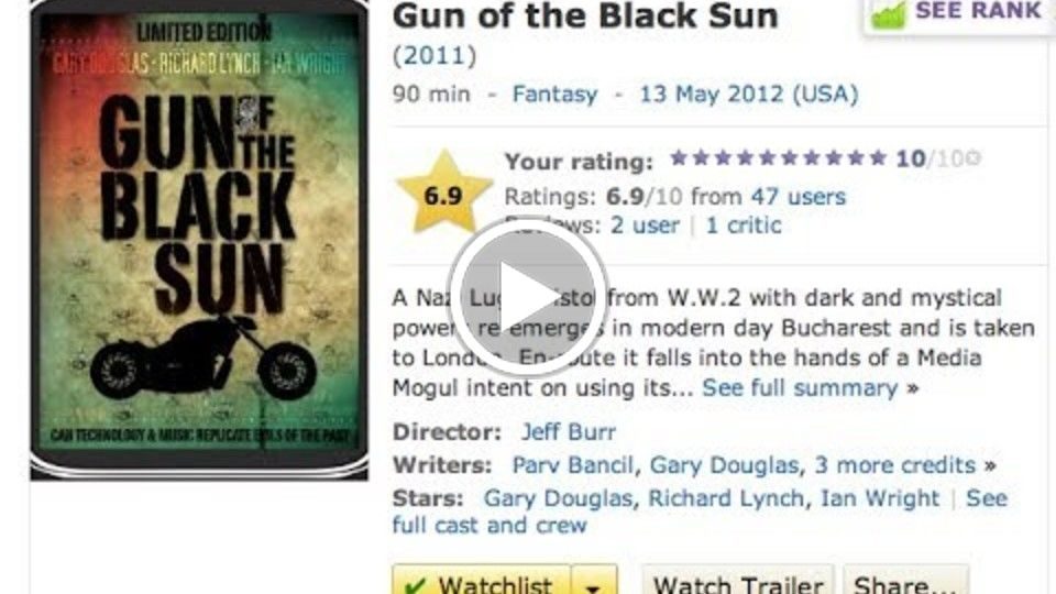 GUN OF THE BLACK SUN (FULL MOVIE)