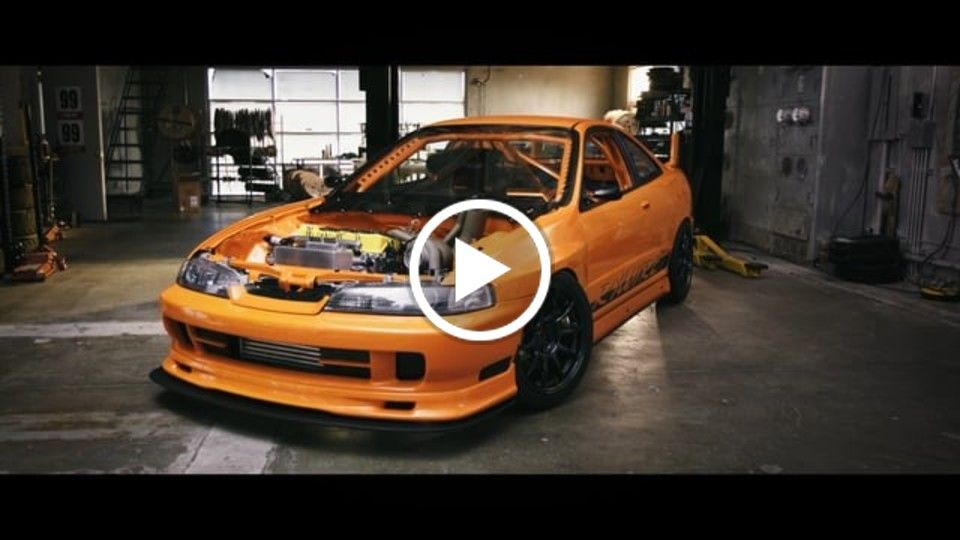 Rywire GT3integra build - The Road to SEMA 2015