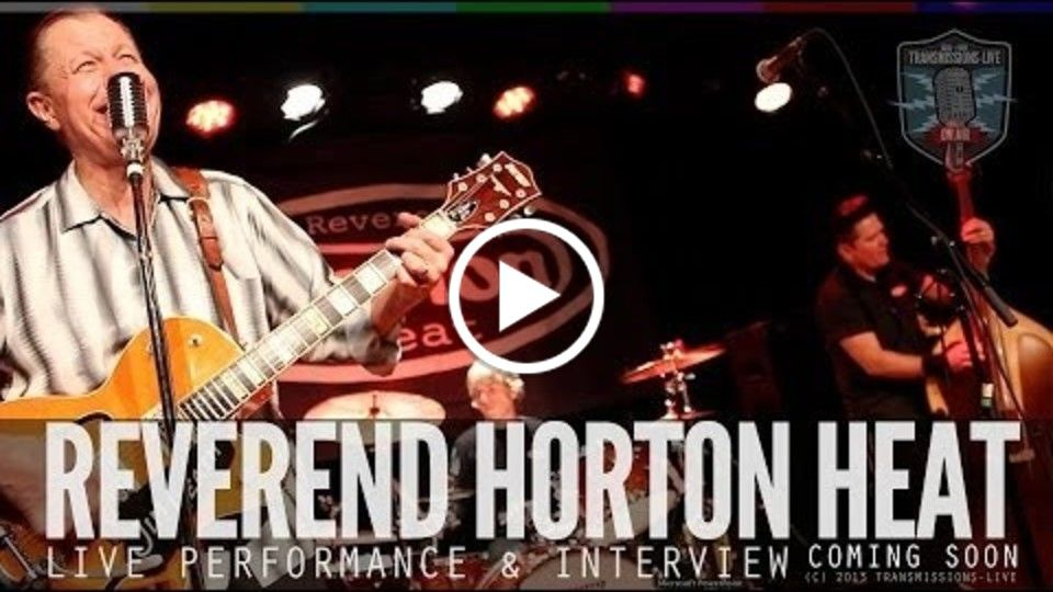 Ep #10 Preview The Reverend Horton Heat LIVE at the Sweetwater