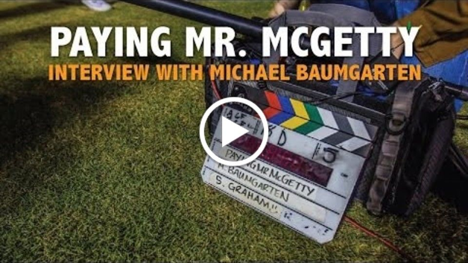 "Michael Baumgarten Interview on ""Paying Mr. McGetty"" and Filming in St. Pete / Clearwater"