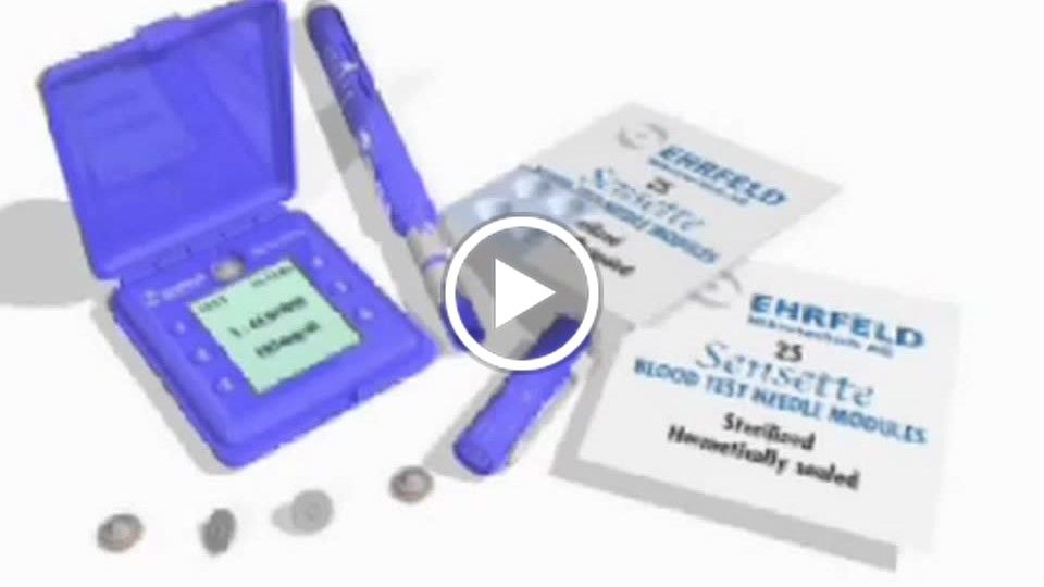 Ehrfeld Sensette blood analysis system