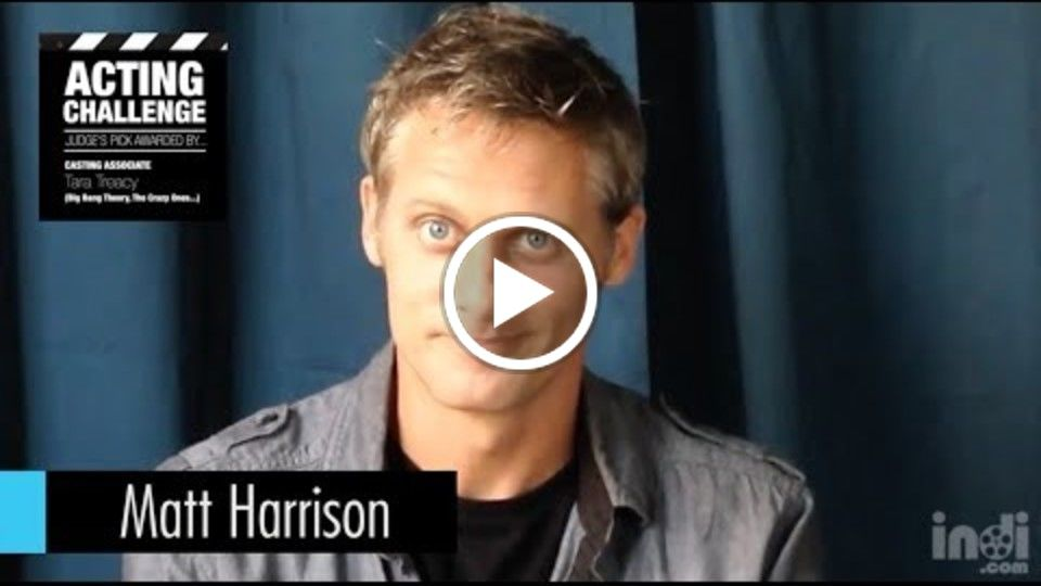 CA Tara Treacy on Actor Matt Harrison