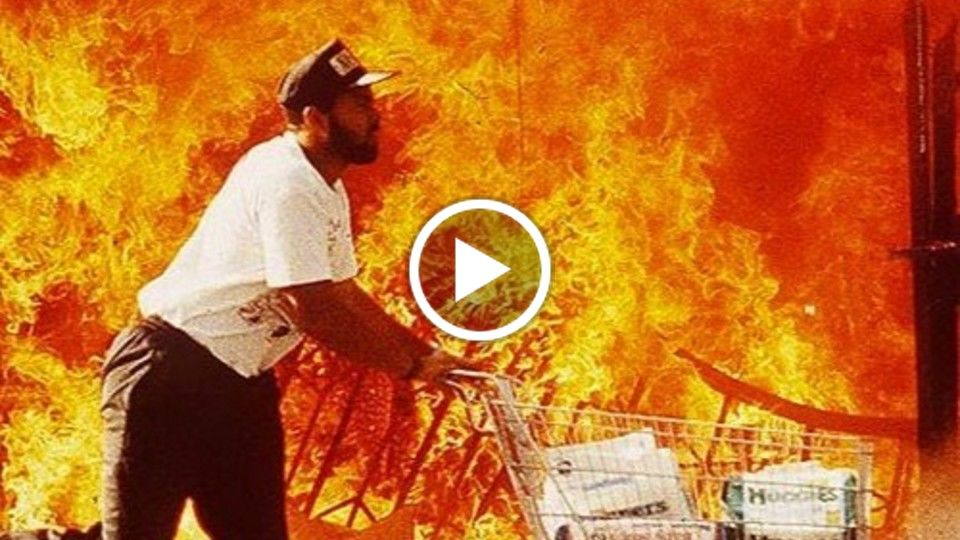 BURN M**** BURN! : A conversation about the LA Riots with director Sacha Jenkins by UC Berkeley J-School