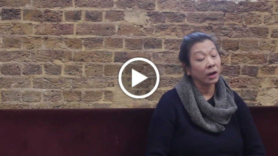 Short interiew with Lucy Sheen about Conversations With My Unkown Mother.mov