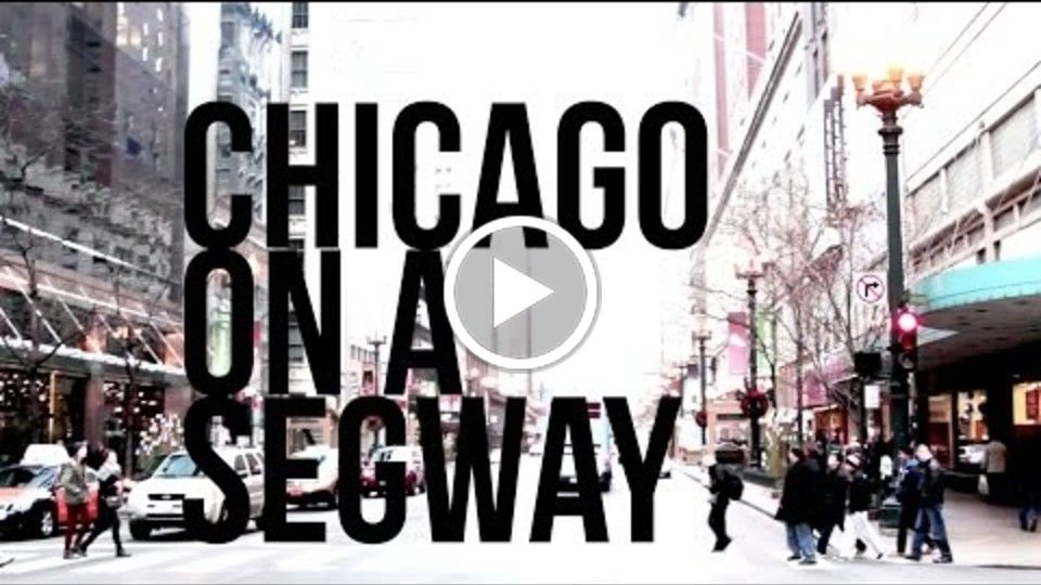 Chicago on a Segway