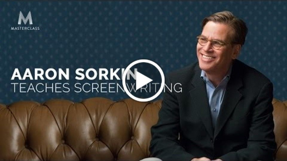 Aaron Sorkin's Screenwriting MasterClass | Official Trailer