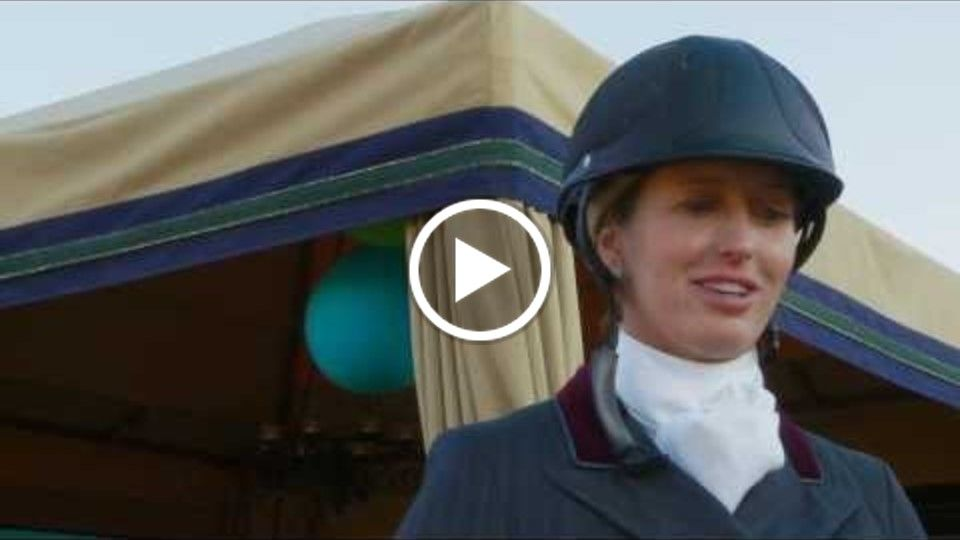 Hope Glynn Interview August 8th 2013 Menlo Charity Horse Show