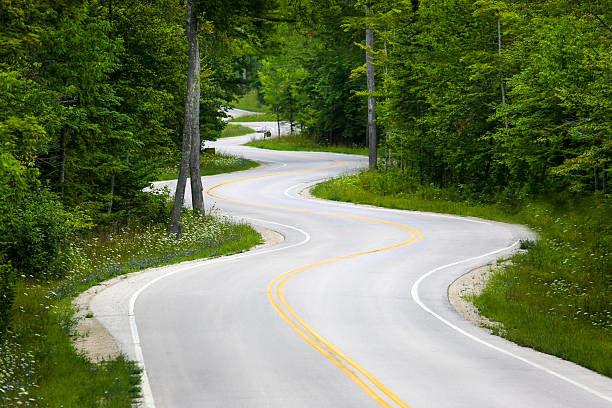 LONG ROAD BEHIND
