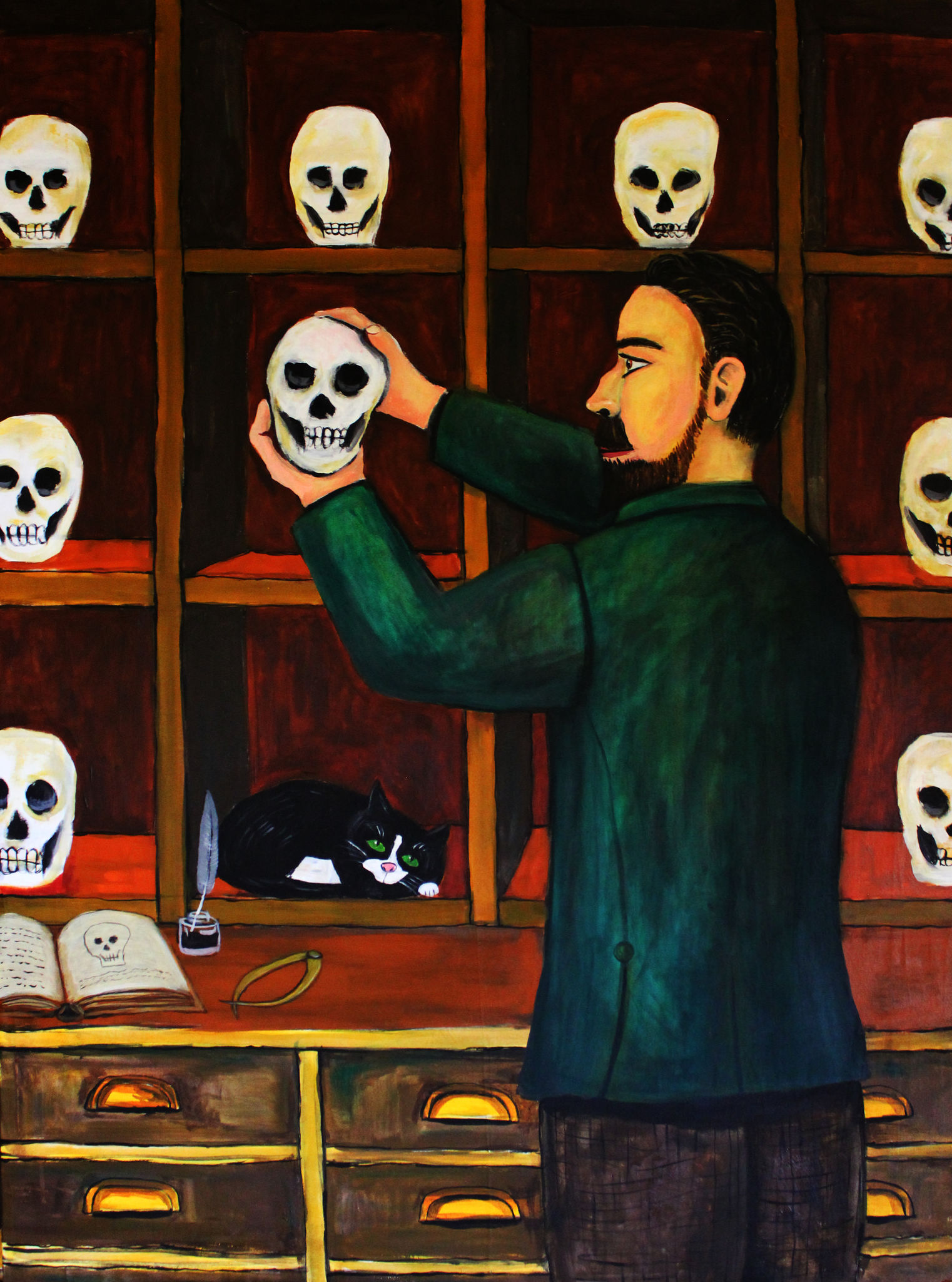 DOCTRESSES: EPISODE ONE,  THE BOOK OF SKULLS ( PART 1)