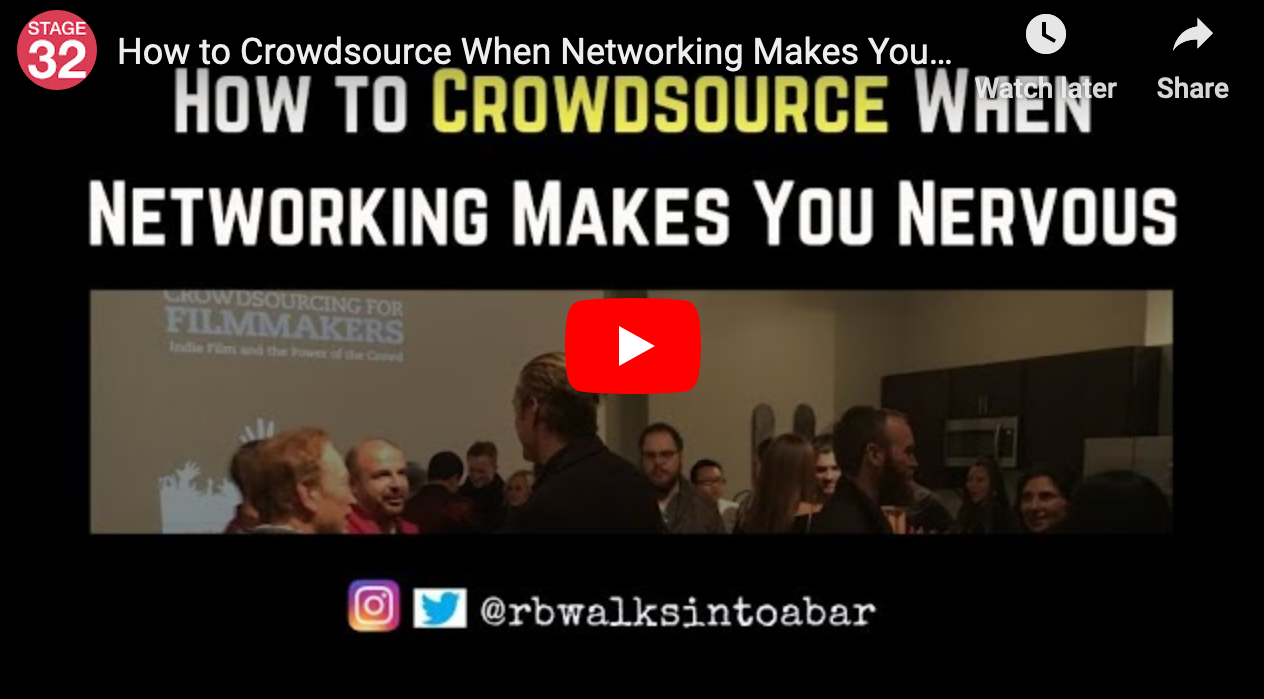 How to Crowdsource When Networking Makes You Nervous