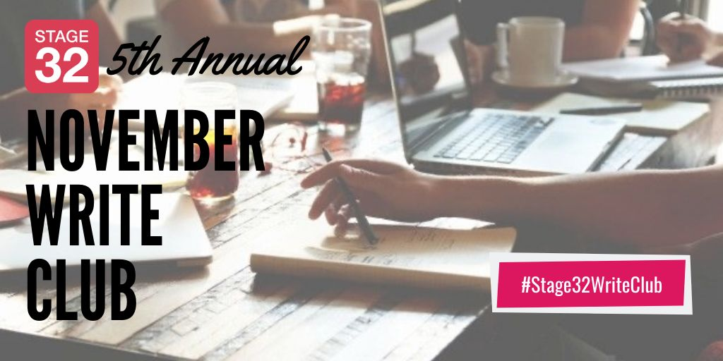 Huge Successes in October and a Busy November Ahead for Stage 32 Writers