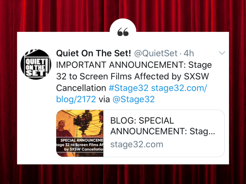 THANK YOU Stage 32 Members  Independent Film Community Worldwide