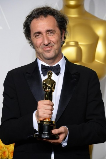 Paolo Sorrentino winning the ultimate award, the 2014 Oscar for Best Foreign Language Film of the Year