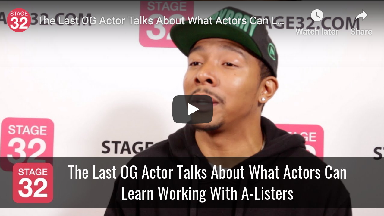 The Last OG Actor Talks About What Actors Can Learn Working With AListers