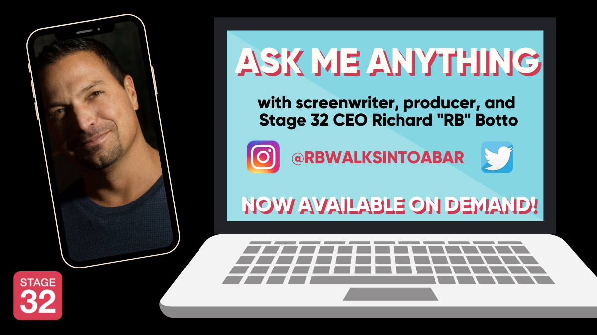 Ask Me Anything Embracing the New Normal with Stage 32 CEO Richard RB Botto Now Available OnDemand