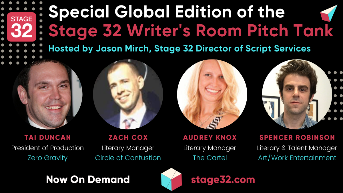 Stay Connected  Stay Creative with Stage 32 Watch Our Virtual Events OnDemand Now