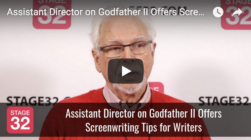 Assistant Director on Godfather II Offers Screenwriting Tips for Writers