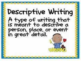 descriptive writing don t be afraid stage 32