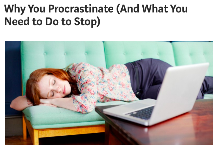 Coffee  Content  Why You Procrastinate And How to Stop  Creating Meaningful Relationships as a Creative
