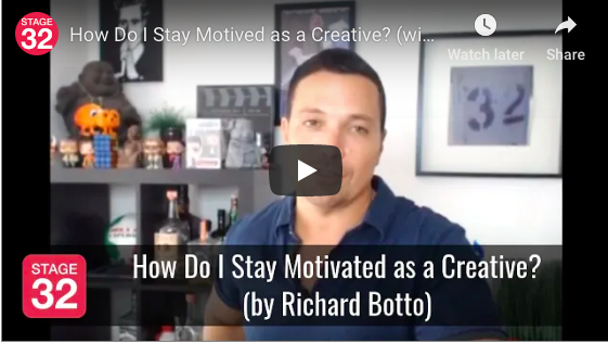 How Do I Stay Motivated as a Creative by Richard Botto