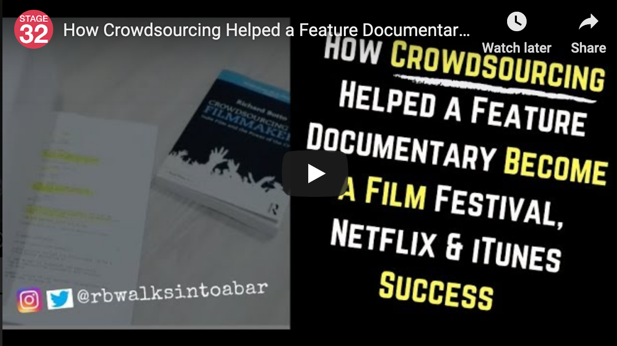 How Crowdsourcing Helped a Feature Documentary Become a Film Festival Netflix  iTunes Success