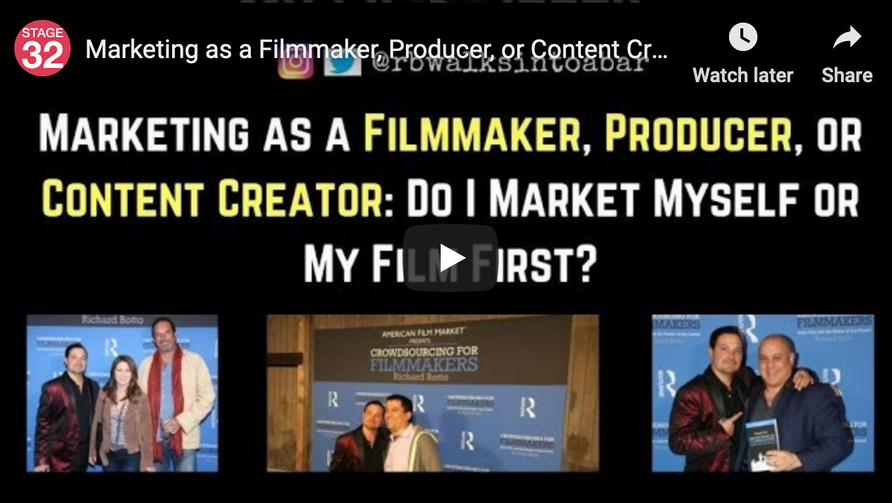 Marketing as a Filmmaker Producer or Content Creator Do I Market Myself or My Film First