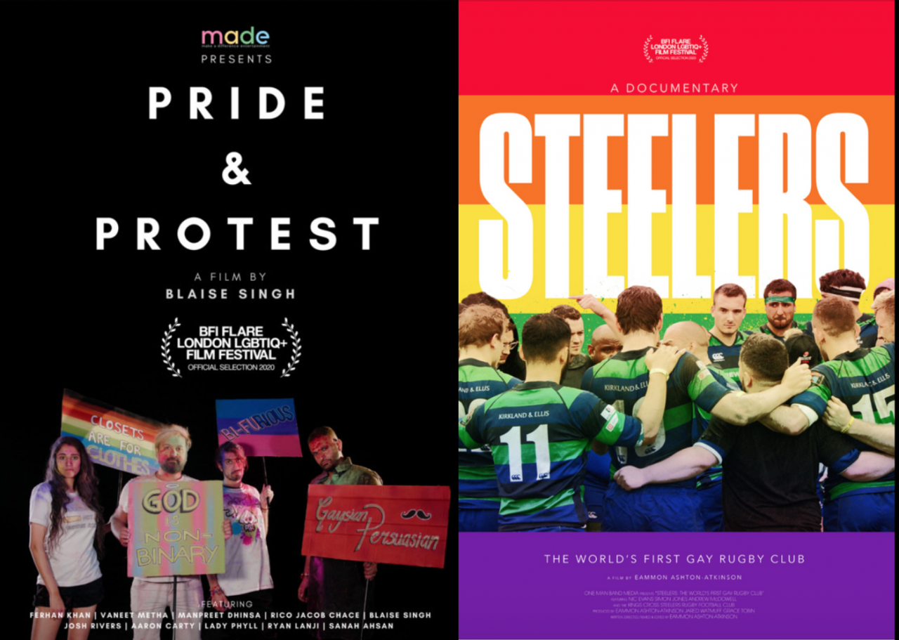 Now Showing BFI Flare London LGBTIQ Film Festival Films on Stage 32 Screenings