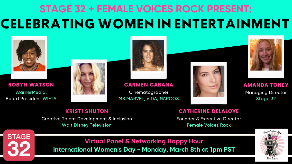 Stage 32  Female Voices Rock Present Celebrating Women in Entertainment