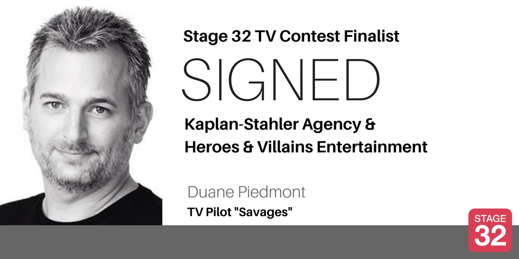 TV Contest Finalist Signs with KaplanStahler  Heroes  Villains Entertainment