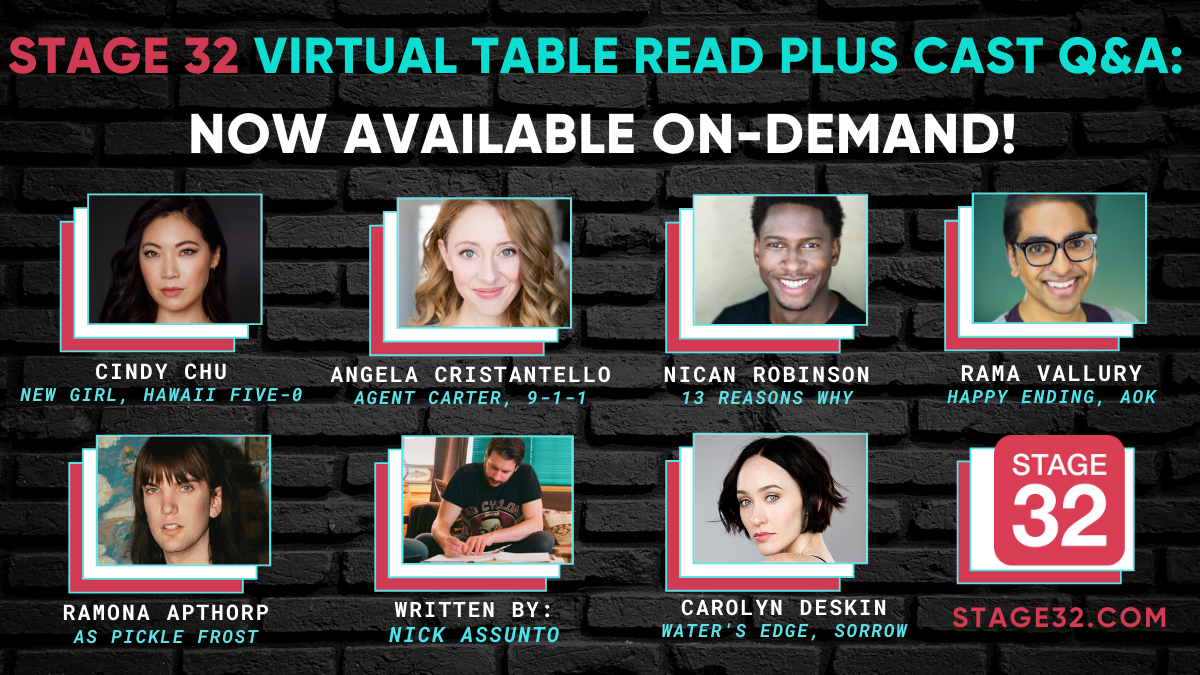 Stage 32 Virtual Table Read Plus Cast QA Now Available OnDemand
