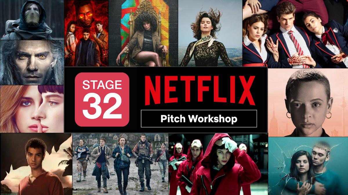 Stage 32  Netflix Present Television Pitch Workshop