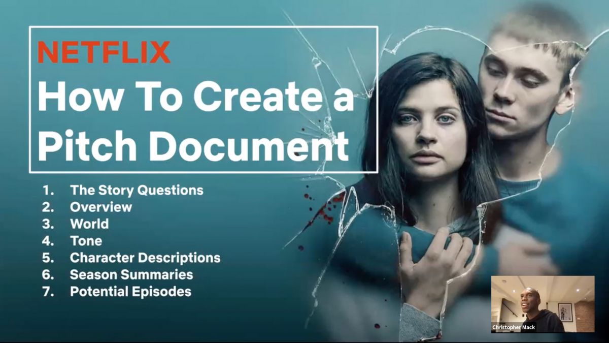 Stage 32  Netflix TV Pitch Workshop Now Available OnDemand