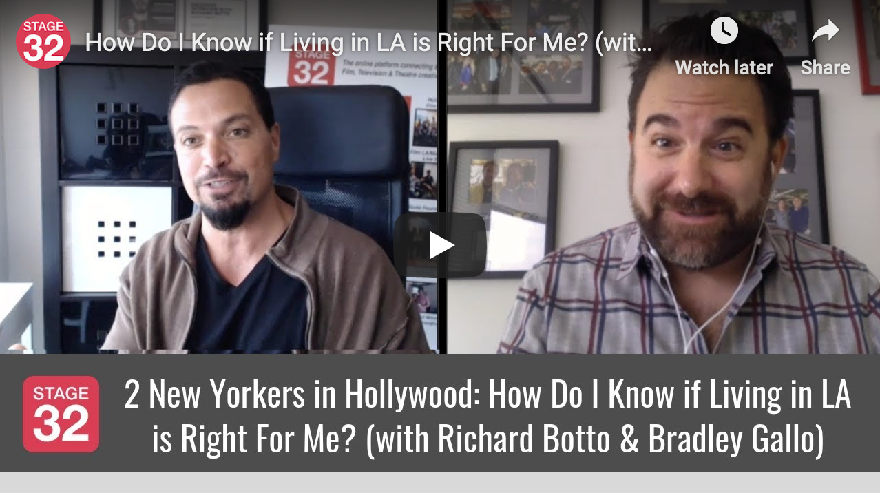 How Do I Know if Living in LA is Right For Me with Richard Botto  Bradley Gallo