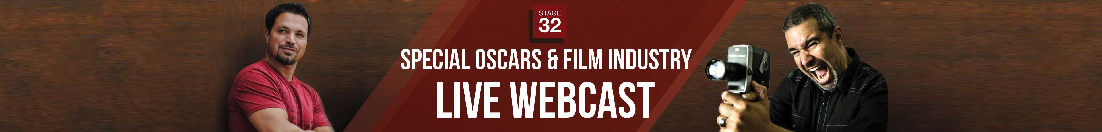 Special Oscars & Film Industry Live Webcast